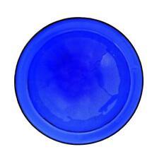 Achla Designs Birdbath Bowl 12.5 Inch Versatile Reflective Crackled Glass Blue
