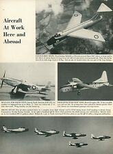 1953 Aviation Article Short SB 5 + Mustang + Bristol MK 32 Lockheed QF-80 Drone