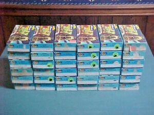Athearn Train Cars Lot of 36 w/ Boxes Including Stockcar / Caboose / Tank Cars++