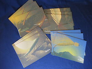 Hand Tied Flies note cards 12 cards and envel, Caddis, Ginger Quill, Green Drake