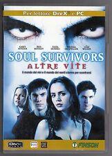 dvd SOUL SURVIVORS ALTRE VITE C. AFFLECK, W. BENTLEY, E. DUSHKU Per DivX e PC