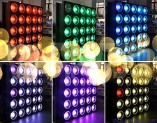 25x30W COB 3in1 LED matrix wash  light 5x5 led  panel night club  wash  light