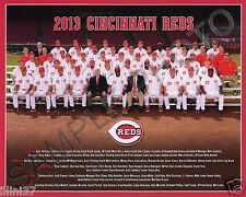 2013 CINCINNATI REDS BASEBALL TEAM 8X10 PHOTO