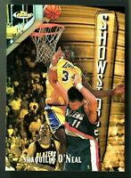"""VERY RARE """"of 289"""" MINT 1997-98 Topps Finest REFRACTOR Shaquille O'Neal #309 HOF"""