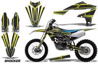 Dirt Bike Decal Graphics Kit MX Sticker Wrap For Yamaha YZ450F 2018+ SHOCKER YLW
