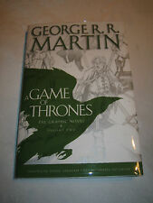 A Game of Thrones Graphic Novel Vol 2 George R R Martin SIGNED 2013 1st/1st HCDJ
