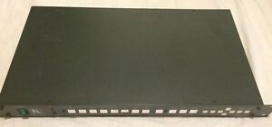 KRAMER VP-724XL PRESENTATION DIGITAL VIDEO SCALER SWITCHER HDTV 1080 I/P WORKS