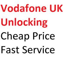 VODAFONE UK UNLOCK CODE Sony Xperia Nokia Lumia Huawei SAMSUNG ALCATEL ZTE HTC