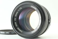【 N. MINT】CANON NEW FD 50mm f/1.2 NFD MF FD Mount Camera Lens From JAPAN #067