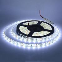 Waterproof SMD 5050 LED Strip 12V 60leds/m Flexible Tape Rope Light Cool White