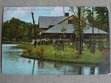 Old 1907 One Cent Postcard Casino Lakemont Park Altoona Pa Blair County