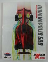 2018 Indianapolis 500 102nd Running & IndyCar GP Official Program New Sealed