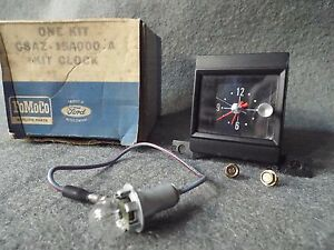 NOS Clock 1968/68 Ford Galaxie 500 XL GT/Convertible/Fastback/LTD Country Squire