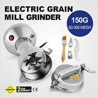 150g Electric Herb Grain Grinder Powder Machine Wheat Cereal Medical Clinic