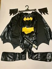 GIRLS BATGIRL HALLOWEEN COSTUME SIZE S Small WITH ACCESSORIES Make An Offer
