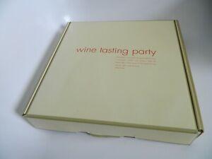 NIB Wine Tasting Party Game by Red Envelope
