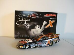 John Force Norwalk 2003 Mustang Funny Car 1:24 Halloween Rare