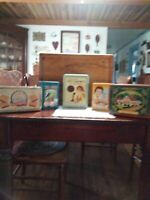 Set Of 5 Classic Cookie Tins
