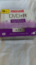 Maxell DVD+R 10Pk Single Sided