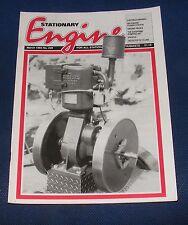 STATIONARY ENGINE MAGAZINE MARCH 1993 NO.229 - PROFILE: NIGEL MCBURNEY