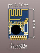 2PCS 2.4G Wireless Module SMD NRF24L01 + Module Pitch 1.27mm Replace NRF2401