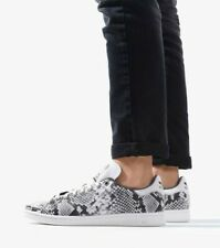 ADIDAS STAN SMITH EH0151 SNAKE SKIN RARE COLOR MEN'S CASUAL AHOES 100% AUTHENTIC