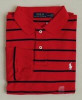 Polo Ralph Lauren Striped Long Sleeves Pony Classic Soft Touch Holiday Shirt M
