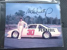 NASCAR Michael Waltrip signed/autographed 1991 Pennzoil Hero Card