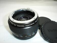 VIVITAR 2x MACRO focusing tele converter MC lens - PENTAX  P/K - A, R- PK mount