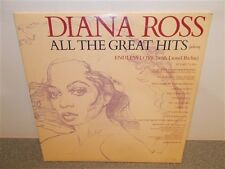 * Diana Ross . All The Great Hits . Supremes . Lionel Richie . Motown . 2 LP Set