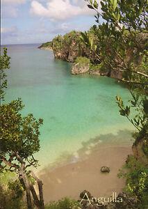 Postcard 11 - ANGUILLA - Caribbian - Little Bay Beach - British West Indies