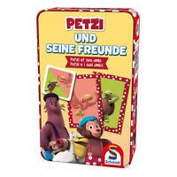 Schmidt Spiele Petzi und seine Freunde Kartenspiel Reisespiel Gesellschaftsspiel