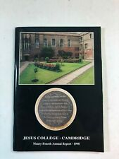 Jesus College, Cambridge - Ninety-Fourth Annual Report 1998 - Paperback Book
