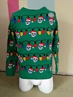 Unisex Boys Girls F&F Light Up Christmas Jumper Age 2-3 Brand New With Tags