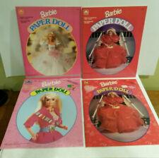 Barbie paper dolls Golden lot 4 1990s uncut