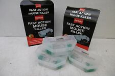2 X PACKS OF 2 RENTOKIL PRE BAITED FAST ACTION MICE MOUSE KILLER BOXES