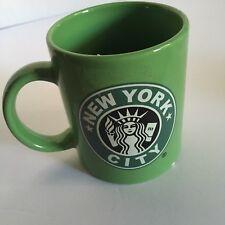 NEW YORK CITY  Coffee mug Green