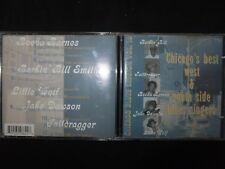 CD CHICAGO'S BEST WEST & SOUTH SIDE BLUES SINGERS / VOL 1 /