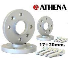 KIT 4 DISTANZIALI RUOTE ATHENA 17+20 MM. OPEL MERIVA - 4 FORI -  2003>2010