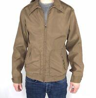 Vintage 60s 70s McGregor Drizzler Loop Collar Jacket Rain Repeller M Medium Coat