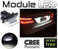 Peugeot PARTNER TEPEE Modules Ampoules LED Plaque d'immatriculation Anti erreur