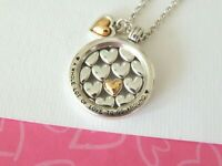 Brighton LOTS OF LOVE Heart Reversible Necklace New tags $68