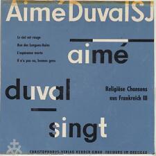 Single-(7-Inch) Vinyl-Schallplatten aus Frankreich mit Sampler