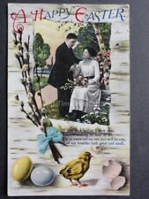 Greetings: A HAPPY EASTER If You Love Me, as I Love You c1914 by K.K.Co No.211