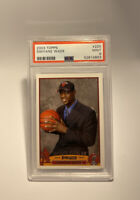 2003-04 Dwyane Wade Topps Rookie #225 PSA 9 MINT Miami Heat RC Not Chrome INVEST