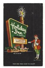 Massachusetts MA Holiday Inn The Nations Inn Keeper Seekonk Standard View Card