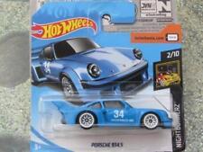 Coches, camiones y furgonetas de automodelismo y aeromodelismo azules Hot Wheels Porsche
