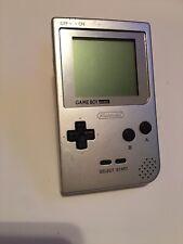 New listing Nintendo Game Boy Pocket Mgb-001 System Platinum Silver Gameboy Tested