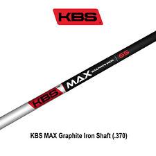 KBS MAX Graphite Iron Shaft (.370)