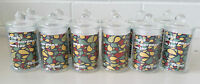 12 x Glass Apothecary Candy Jar with Lid, for Candy & Candle Waxing - Mini 150ml